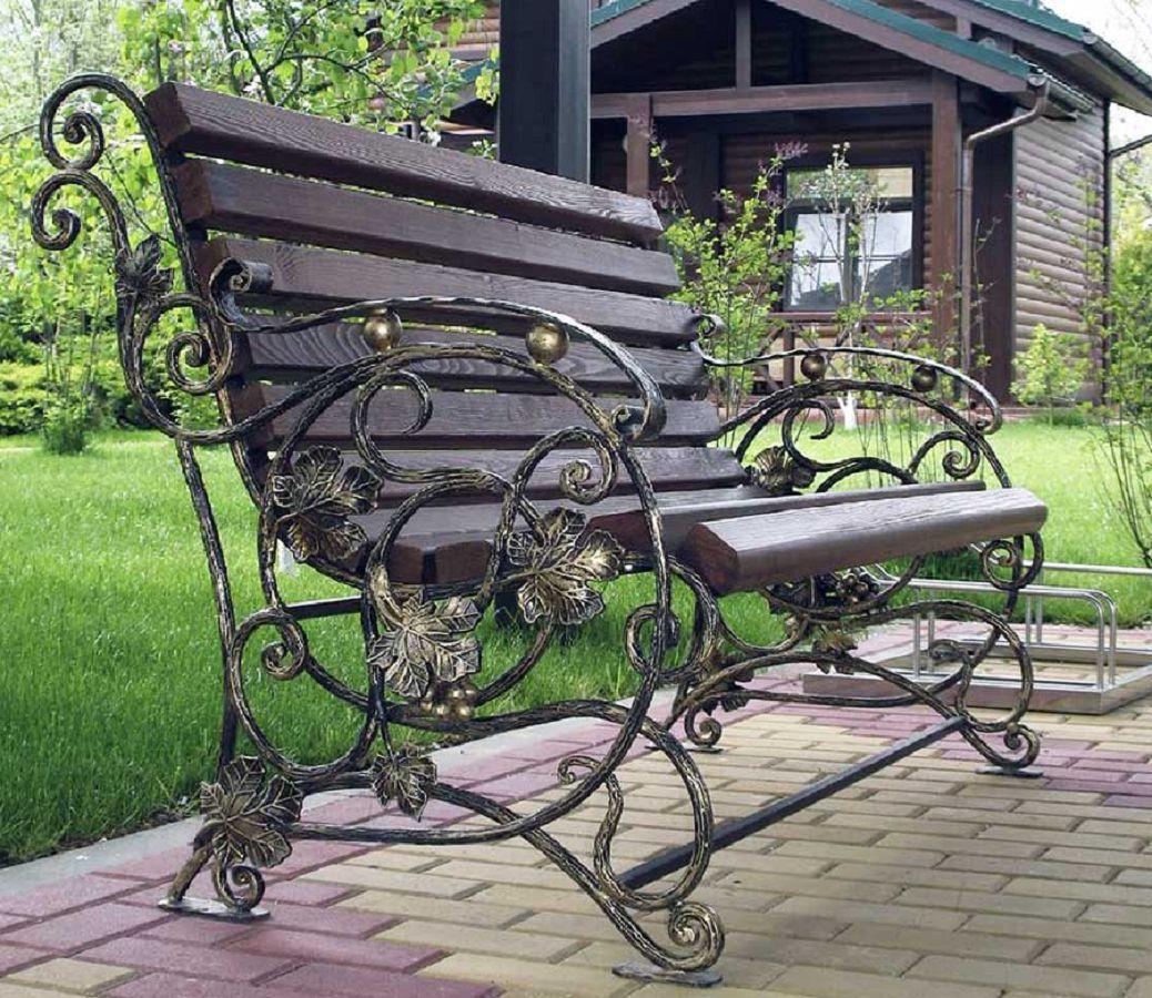 Кованые скамейки Севастополь