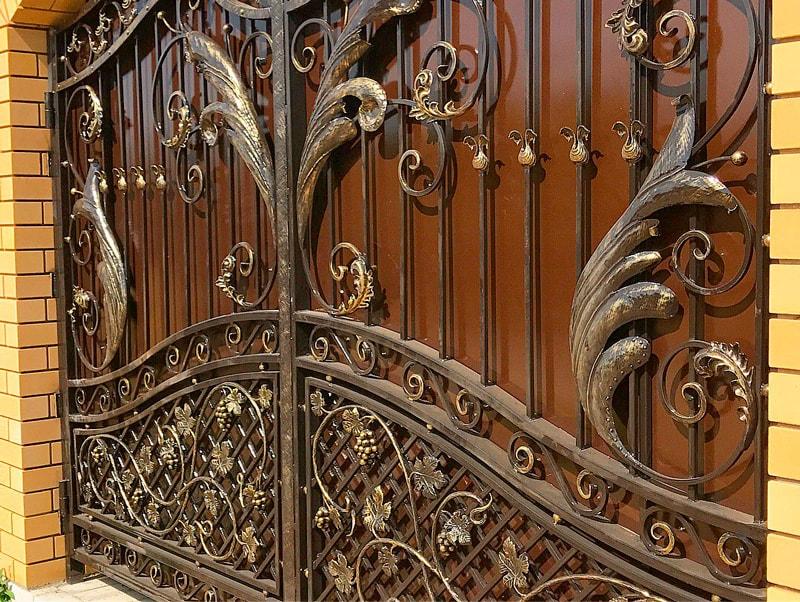 Кованые ворота и калитки Севастополь